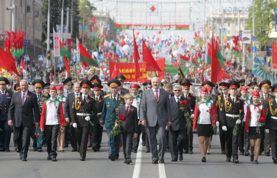 почему небыло парада победы в минске другим